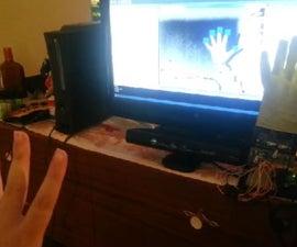 Kinect Driven Adruino Powered Hand