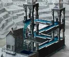 Perpetual Motion Machine: The real-life version of M.C.Escher's Waterfall