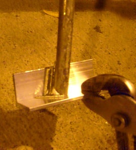 Blob Brazing - Bicycle Kick Stand Part 1