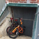 Bulkhead Bike Storage Rack