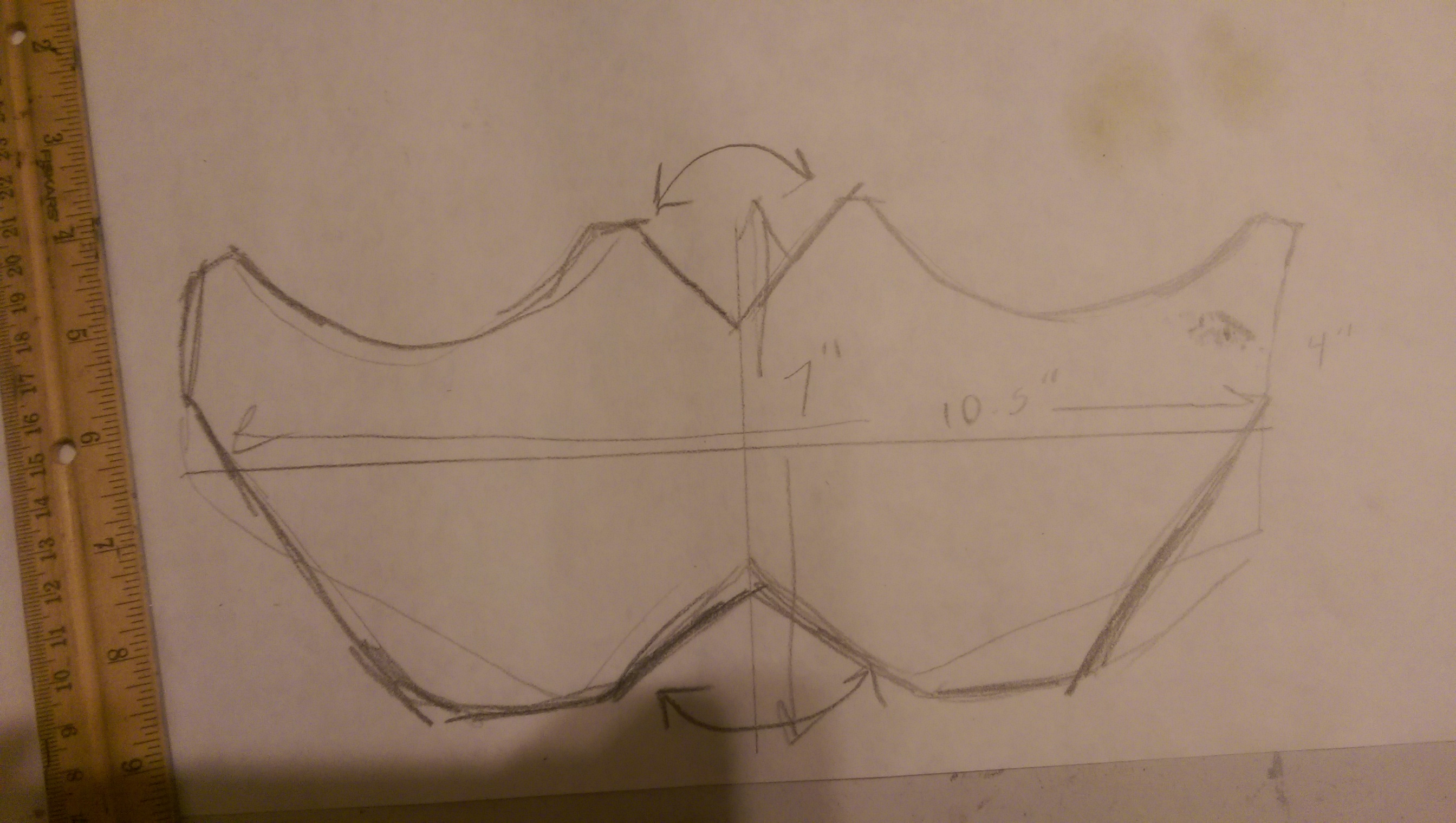 Picture of Measure Your Face and Draw Your Pattern