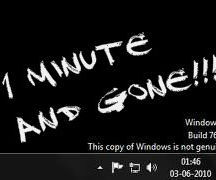 How to Make Windows 7 Genuine in a Minute