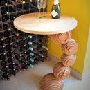 Plywood Sphere Table