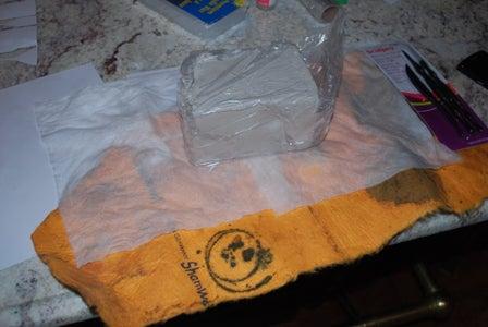 Preparing Clay Mold