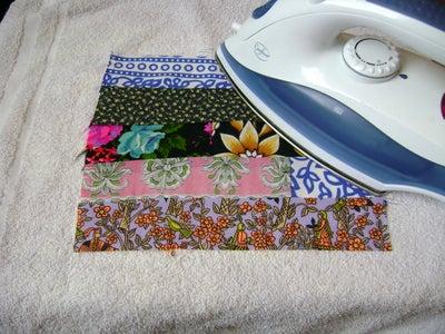 Sew Fabric Strips