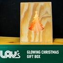 DIY Glowing Christmas Gift Box
