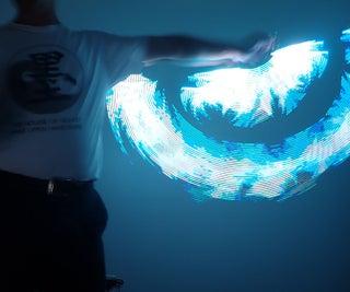LED Spin Wand/Nunchaku