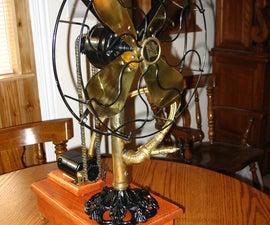 Steampunk Style Fan