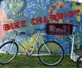 BIKE CHARRIOT Mark I. Aka Bike Pooling Device.