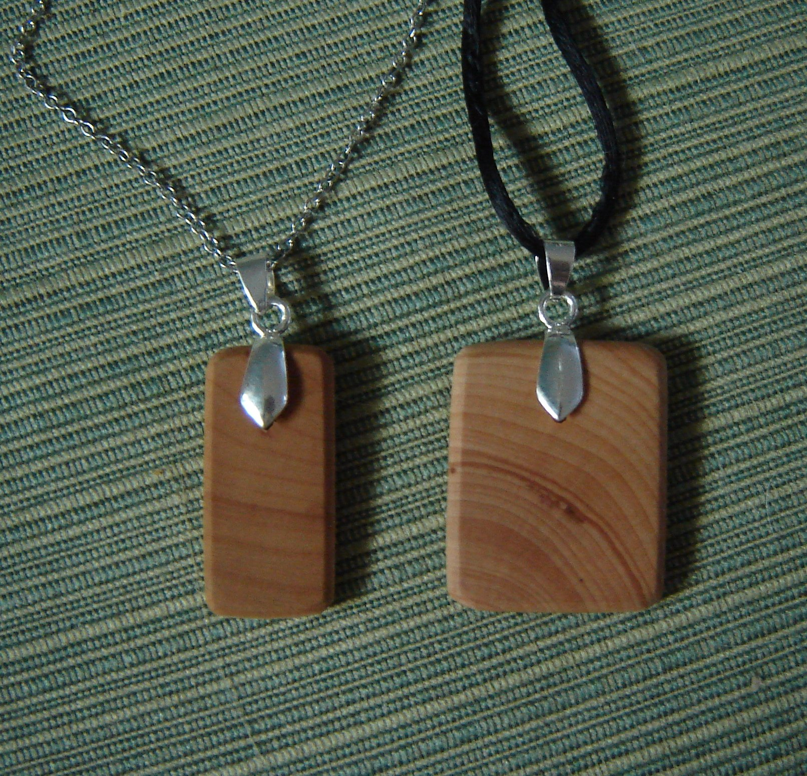 Wood Pendant Necklace 7 Steps With Pictures