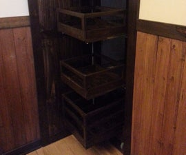 Retractable  Pantry