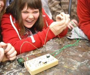 A Wire Maze With an Electronics Twist