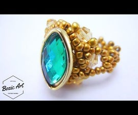 Adagio Ring With Green Gemstone | How To