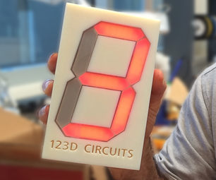 Accelerometer Dice With 123D Circuits