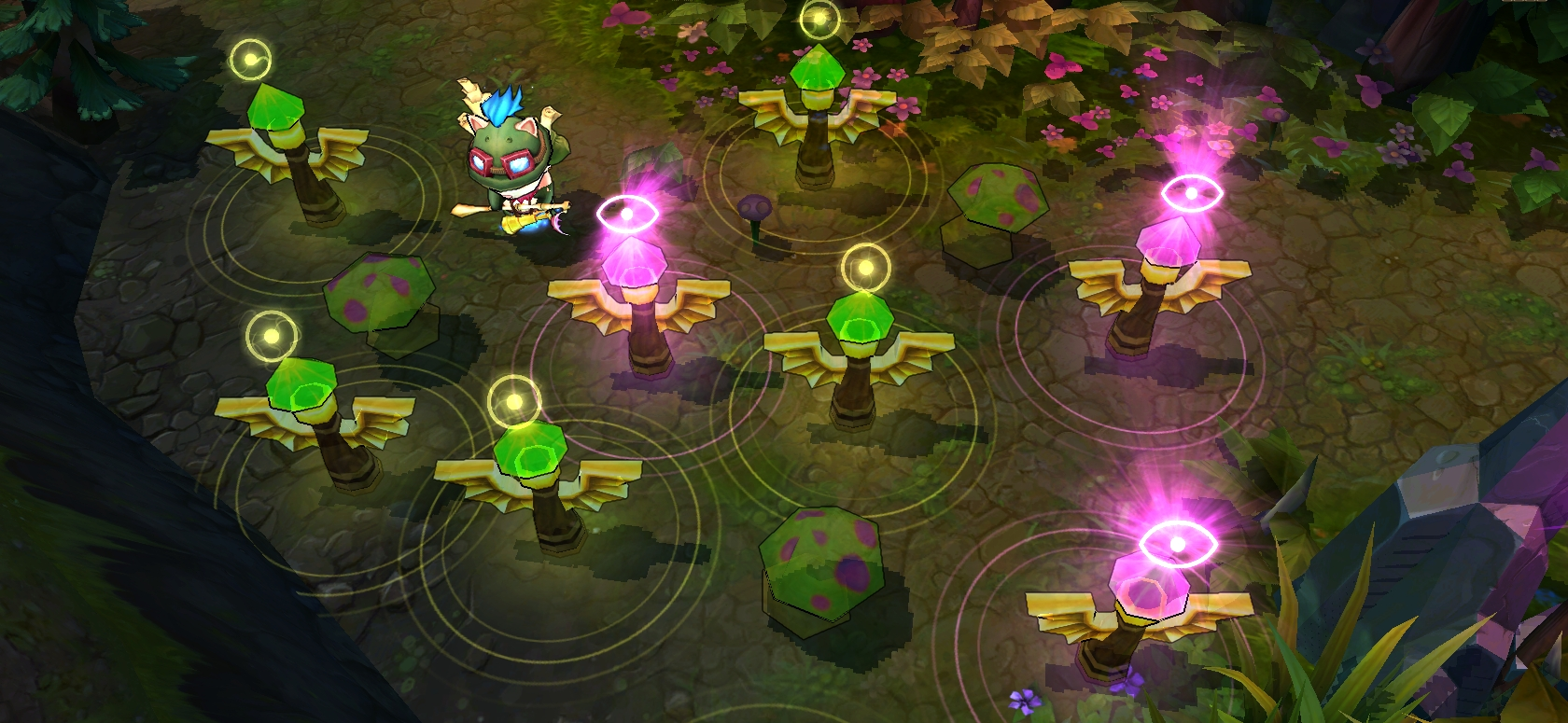 Picture of Warding in League of Legends