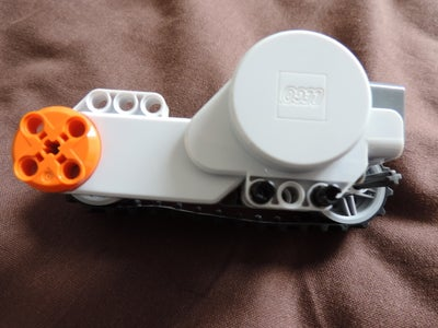 Attach Tracks to the Motors