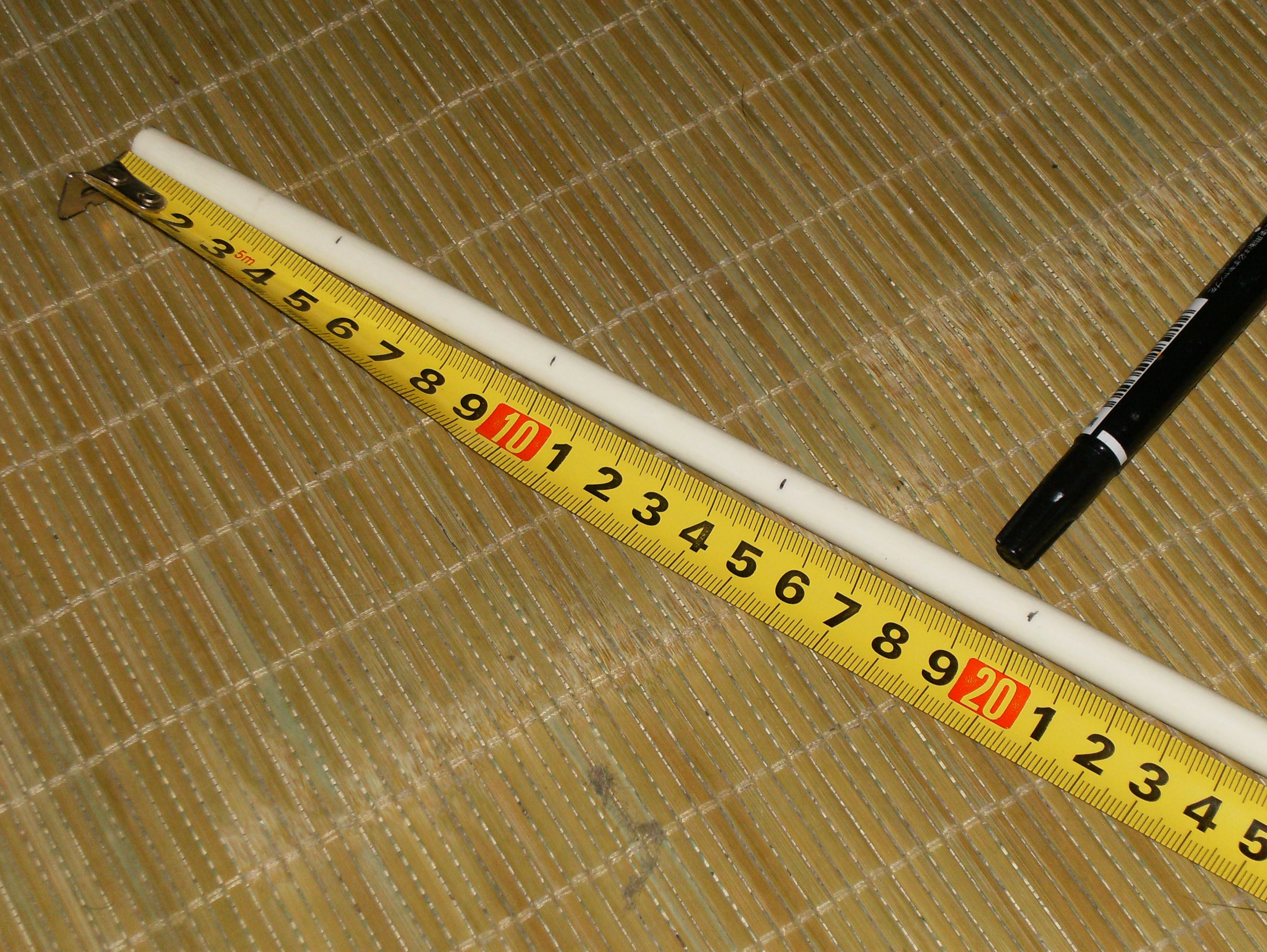 Picture of Measure Your Door and Mark Your Stick