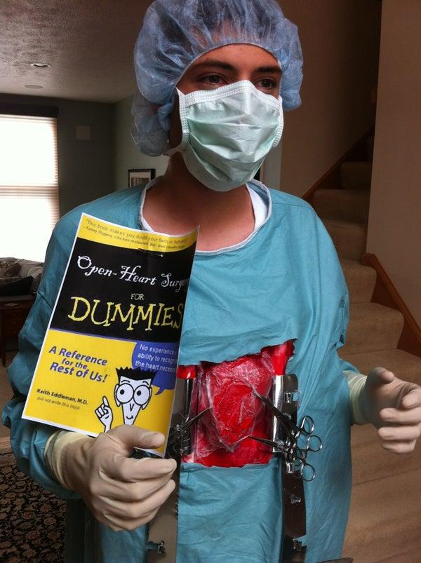 DIY Heart Surgery Costume