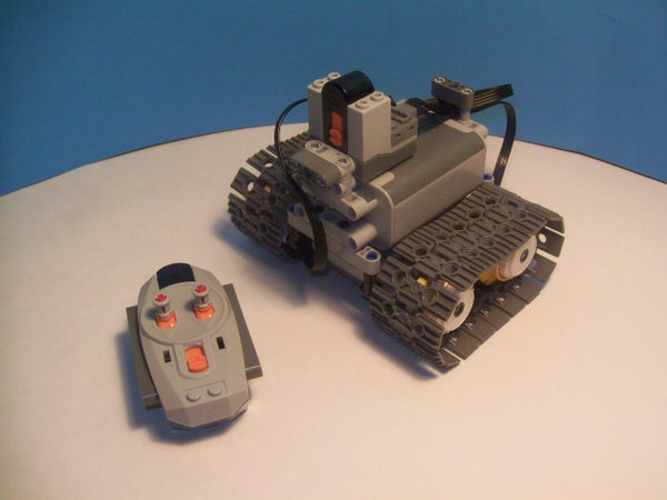 Lego Power Functions Mini Tank (With Video)