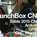 Sable 2015 CNC + Arduino + GRBL = LunchBox CNC