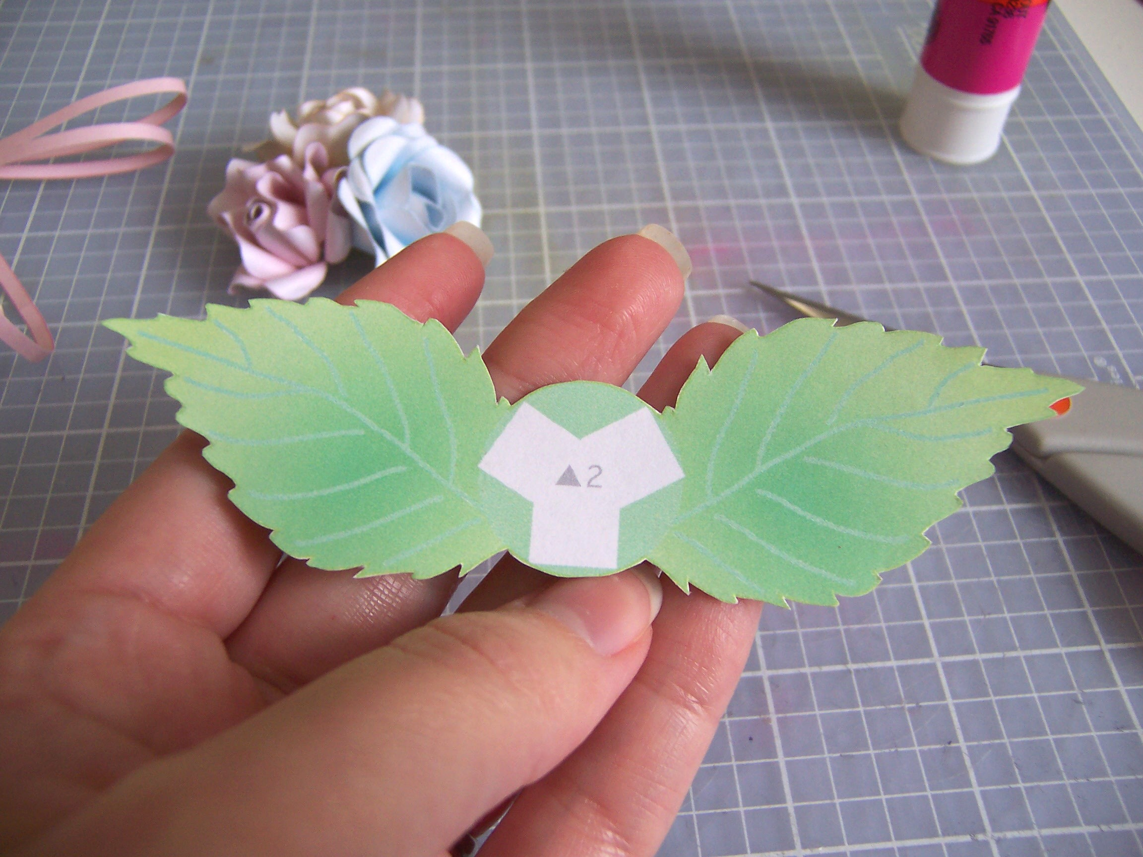 Picture of Cut Out and Adhere Leaves