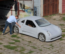 KOZMO - cool, small sportscar
