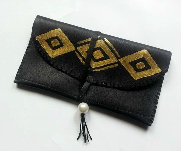 DIY Simple Leather Purse