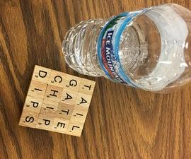 Cork Board Scrabble Coasters