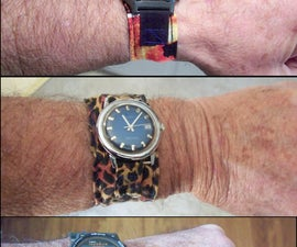 Make Your Own Fabric Watch Band(s)