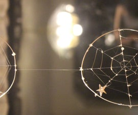 Almost-Real Spiderweb Mobile