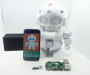 MrRobot - Ubuntu Mobile App Enabled Robotics( Raspberry Pi and Arduino Involved)