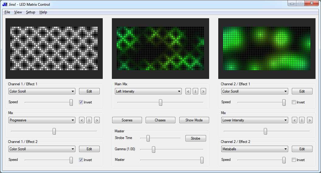 Picture of LED Matrix Control