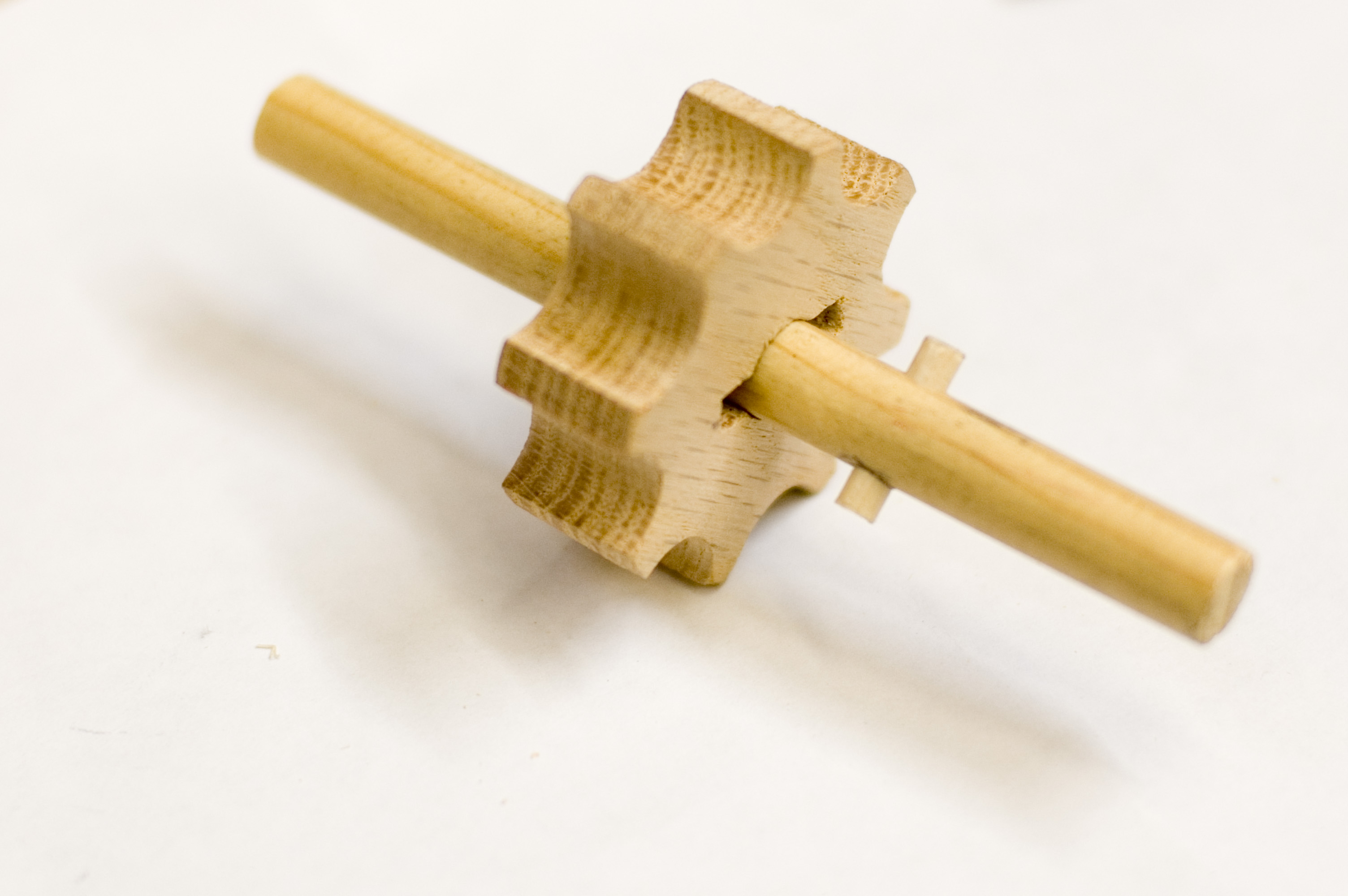 Picture of Attach the Gear to the Dowel