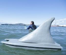 RC Shark Boat Prank