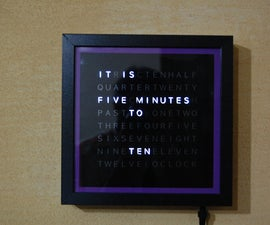 My Arduino WordClock