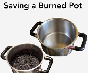 Save a Burned Pot