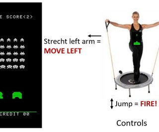 Space Invaders Fitness