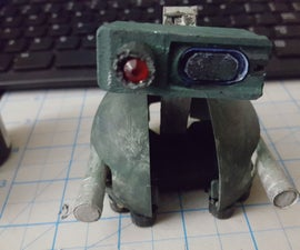 SCRAP-065-001 --  a Robot Kit-Bashed Out of Junk
