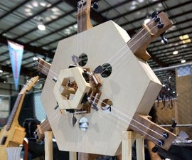 The Hexachord, an Arduino-Controlled Musical Instrument