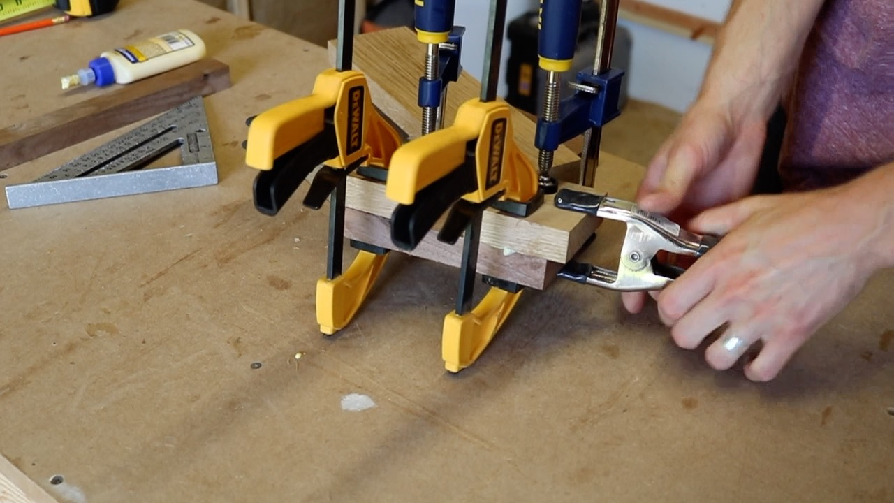 Picture of Glue the Mallet Head Together.