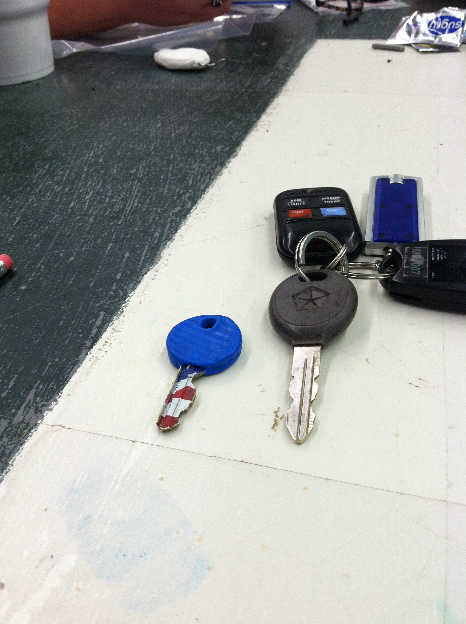 Picture of Sugru Key Cover