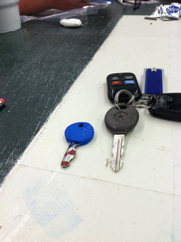 Sugru Key Cover