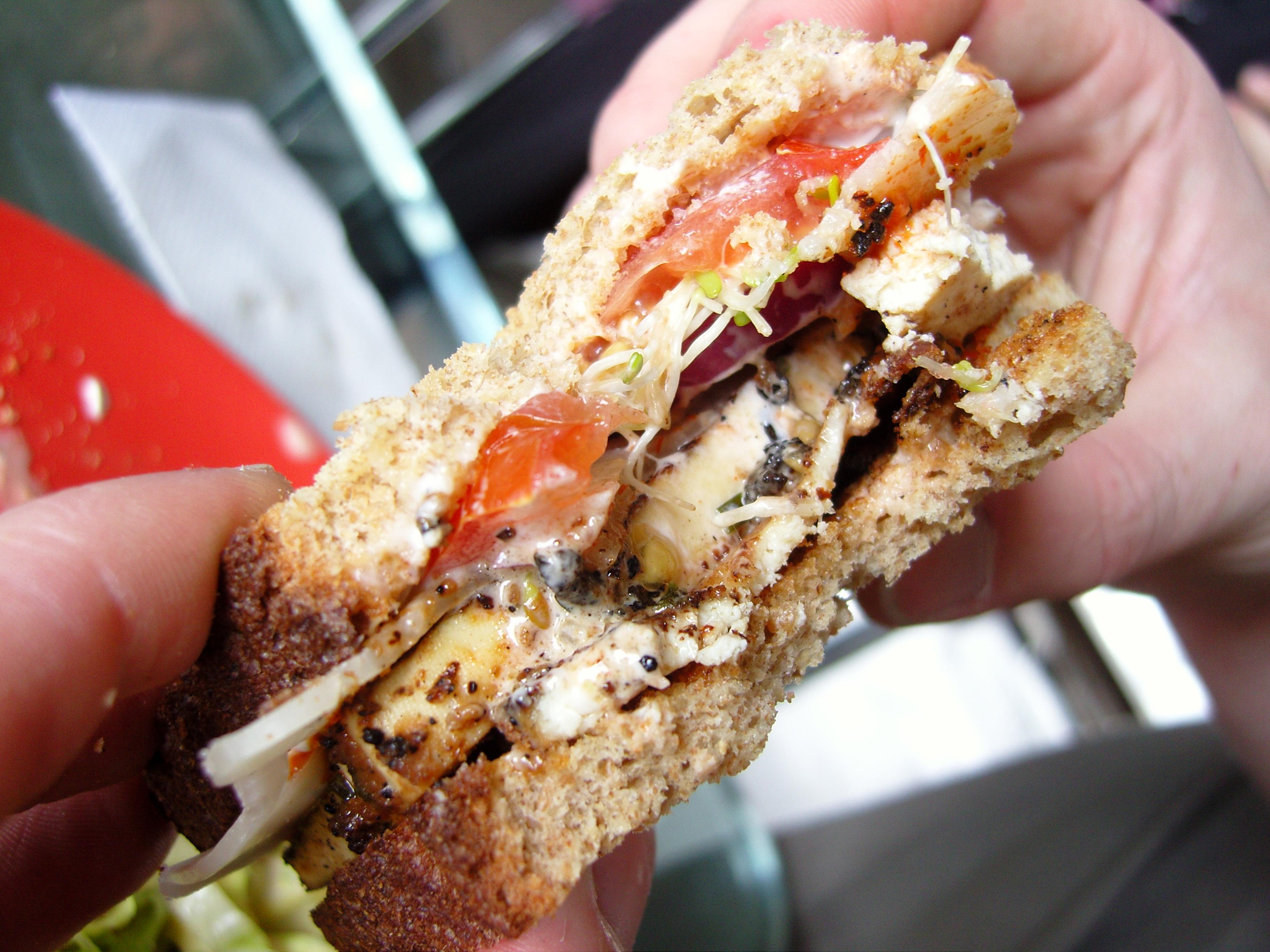 Picture of Miso Tofu Sandwiches