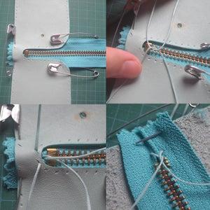 Attaching the Zipper