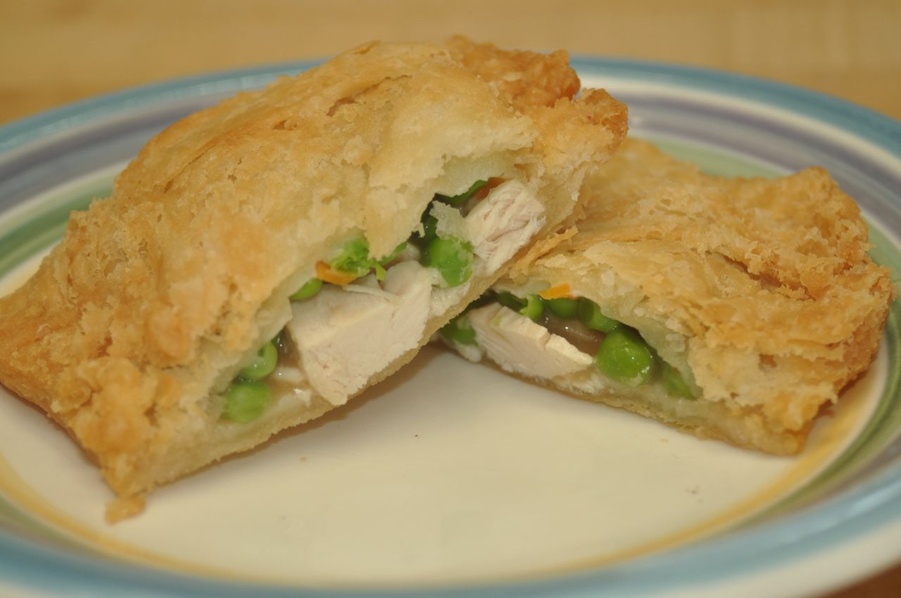 Picture of Deep-Fried Chicken Pot Pies