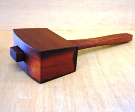 Awesome Wooden Mallet