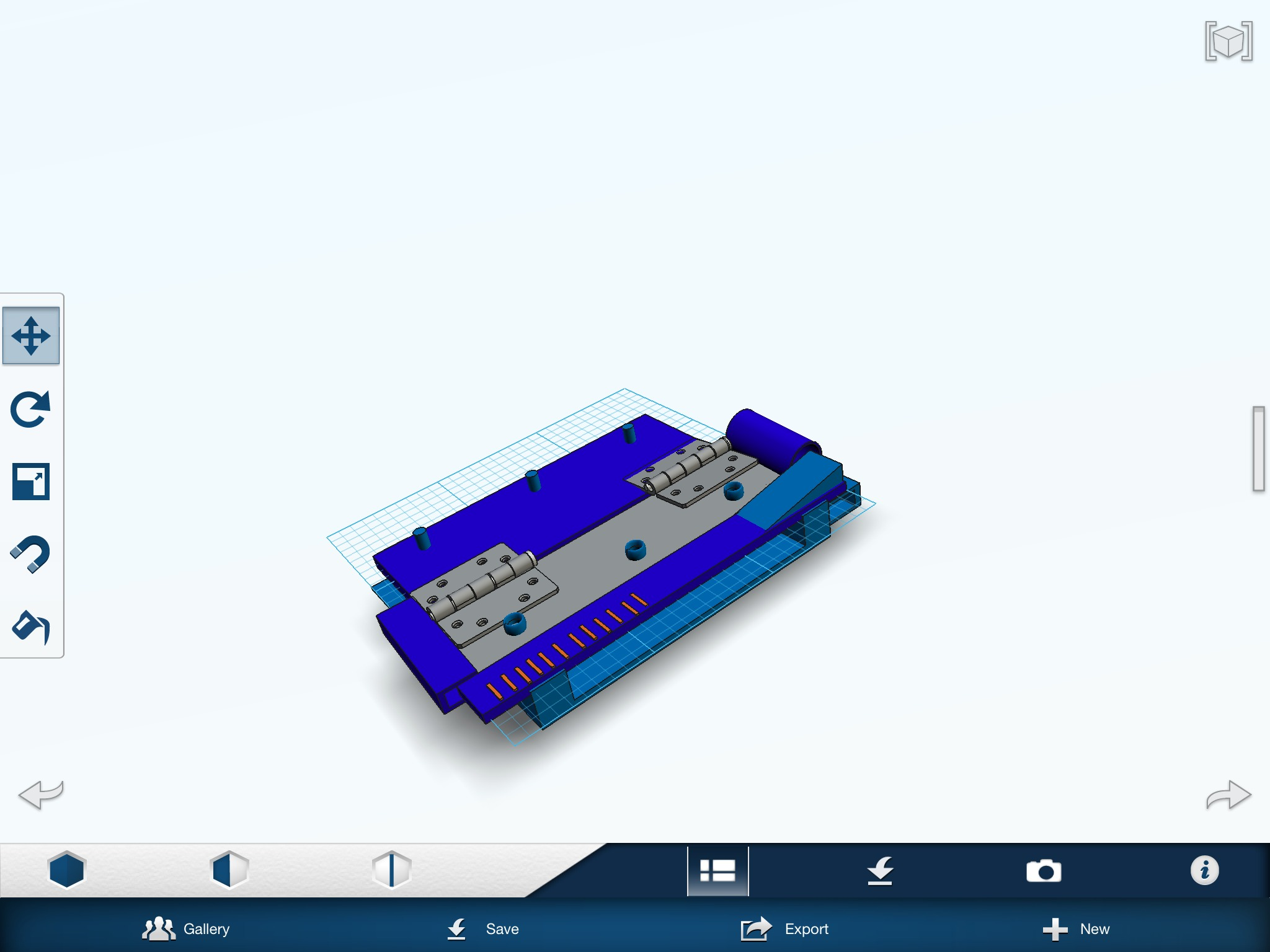 Picture of 123d Office/school Multitool for 3-d Printer