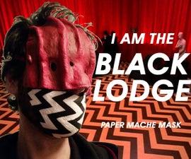 Twin Peaks Black Lodge Mask