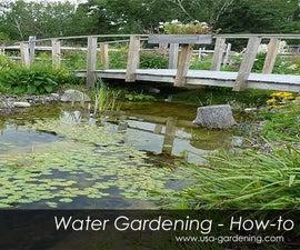 Garden Ponds Network in Your Backyard - DIY Idea