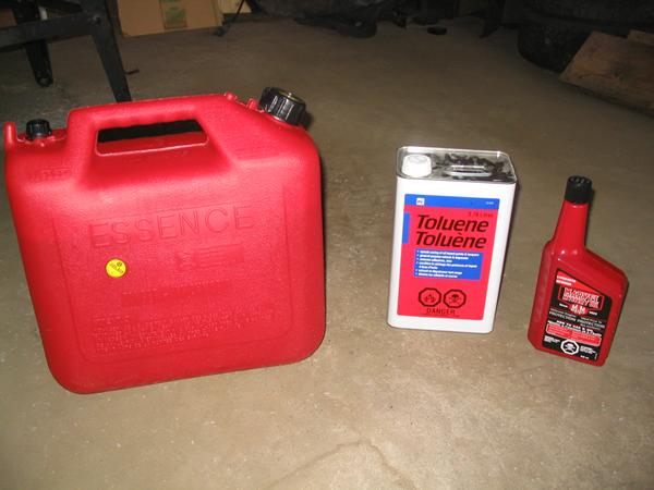 make your own racing gas 3 steps
